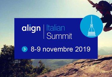 evento esclusivo align italian summit 8 9 novembre 19