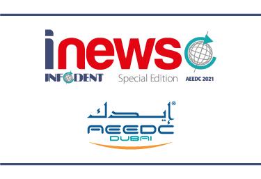 parlano di noi rivista inews infodent special edition aeedc dubai 29 giugno 1 luglio 2021